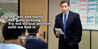 Office Quotes Fascinating Office Quotes The Office Lost And Found Quote The Office Quotes Jim