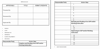 Step By Step Instruction Template 70 Beautiful Images Of Standard Work Instruction Template