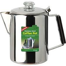 Once your percolator is assembled and full of coffee and water, your work is basically done. Kettles Coffee Makers Campfire Cooking Cookware Dick S Sporting Goods