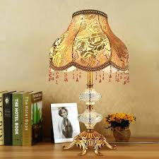 decoration decorative lamp shades household small amber table tiffany technique the is made of with