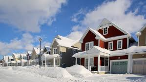 Image result for winter pic house