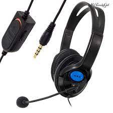 Tai Nghe Chụp Tai Chơi Game Chống Ồn Tích Hợp Mic Cho Sony Ps4 - Tai nghe  Bluetooth chụp tai Over-ear