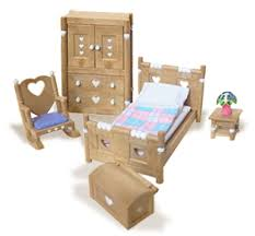 Home » [Furniture] » Calico Critters Country Bedroom Furniture Set