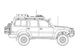 1994-toyota-land-cruiser-diagram-profile | Land Crusiers | Toyota ...