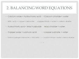 balancing word equations