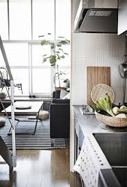 a small e kitchen area