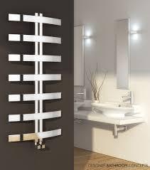 Designer Heated Towel Rails For Bathrooms Magnificent  Reinariesistainlesssteeldesignerradiatorrnd Rie62mainimage