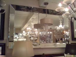 Bevelled Bathroom Mirror Large Quattro Venetian Glass Bevelled Mirror 205cm X 140cm