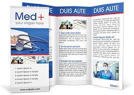 Stethoscope Medicine Book Brochure Template