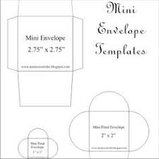 mini envelopes templates free mini envelope template for you by else10 orinising craft