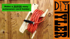 Extension Cord Reel from scrap wood 011