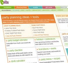 Taking The Most Of The Party Planning Tools Of Evite At Home With