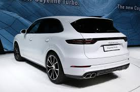 porsche cayenne turbo 2018. perfect 2018 2019 porsche cayenne turbo 2017 frankfurt motor show throughout porsche cayenne turbo 2018 h