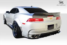 2010-2015 Chevy Camaro Duraflex GT Concept Wide Body Kit - 4PC ...