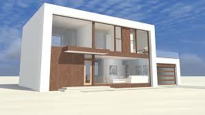 Contemporary/Modern House - Plan HWBDO76756