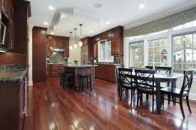 hardwood floors kitchen. Wood Flooring In Kitchen Red Hardwood Floors And Cabinets Tie This Together .