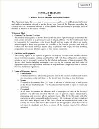 Design Letter Of Agreement Concierge Services Contract Form Legal