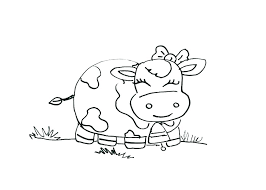 Coloring Pages Baby Farm Animals Coloring Cute Baby Animal Coloring