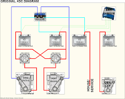 one starting battery for two engines ? cruisers & sailing forums Bayliner Battery Connection Diagram click image for larger version name dc general original jpg views Wiring 12 Volt Batteries in Series