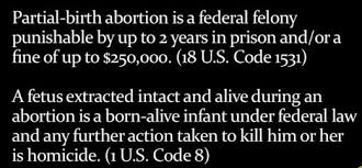 Partial Birth Abortion Plan Conservative Truth Murder Is Not Health Care Dr Tom Barrett