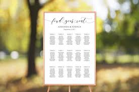 15 Table Seating Chart
