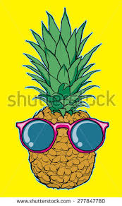 pineapple with sunglasses clipart. cool pineapple with sunglasses vector illustrtaion #277847780 clipart h