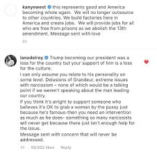 Lana Del Rey confronts Kanye West over support for Donald Trump on Saturday  Night Live - BBC News