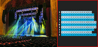 Capitol Theater Slc Seating Chart Stadium Seat Numbers Online Charts Collection