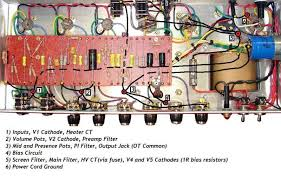 "jcm800 combo project an amplifier build by joe popp larry grounding method """
