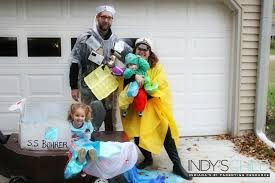 diy family costume indy s child