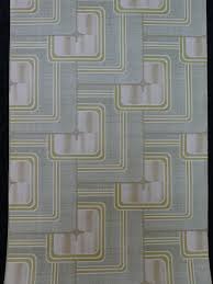 Groen Geometrisch Vintage Behang Funkywalls Dé Webshop Voor