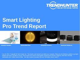 lighting trend. Smart Lighting Trend Report Research