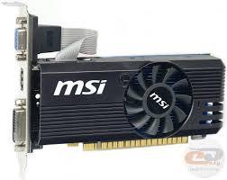 Обзор и тестирование <b>видеокарты MSI GeForce GT</b> 730 (N730K ...