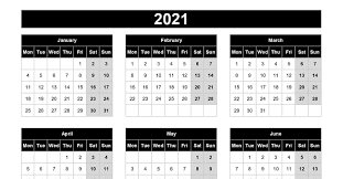 All your favorite crazy holidays. Download 2021 Yearly Calendar Mon Start Excel Template Exceldatapro