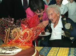 Image result for The oldest person toJeanne Louise Calment. She passed away in southern France in 1997 at the age of 122.