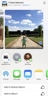 quickly convert live photo to video