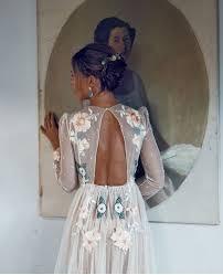 Pin by Ashley Helmer on // • • Wedding D R E S S E S || | Embroidered  wedding dress, Embroidered wedding, Colorful dresses