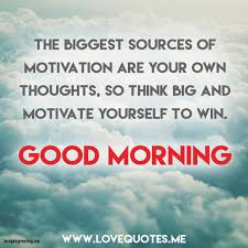 Good Morning Quotes Inspirational In English