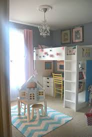 IKEA stuva loft bed is a complete solution for your kids room, include  desks, cabinets and open shelving units