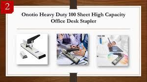 best heavy duty stapler reviews 2017