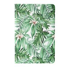 <b>Cover</b> For Ipad Pro 10.5 Leaf <b>PU Leather Tablet Cover Case</b> For ...