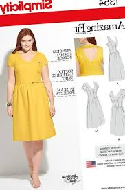 Plus Size Dress Patterns Interesting Plus Size 48s Dress Pattern Formal Dresses