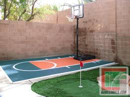backyard ideas basketball court. outdoor courts for sport backyard basketball court gym floors title mini with putting green home ideas e