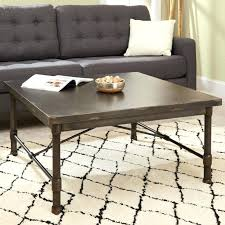 coffee table industrial industrial square coffee table ballard designs industrial round coffee table
