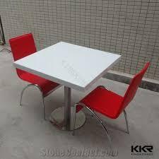 morden composite restaurant table tops