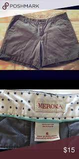 Merona Shorts Dark Grey Merona Brand Shorts Size 6 Easy
