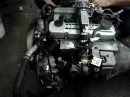 NISSAN USED DIESEL ENGINE TD27 TURBO - YouTube
