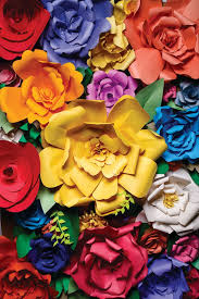 on paper flower wall art tutorial with 51 diy paper flower tutorials how to make paper flowers