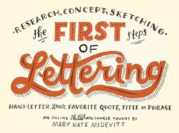 The First Steps Hand Lettering with Mary Kate McDevitt through to see 10 line Classes To Take Your Lettering To THE Next Level resize=600 446