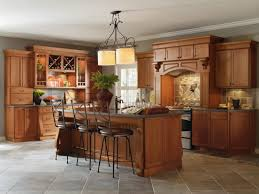 Cabbott Cherry Macarron kitchen by Thomasville Cabinetry ...